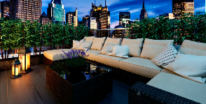 Роскошная терраса в самом сердце Манхеттена: дизайнер Андрей Силаев