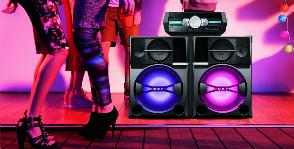 Sony выпускает технику для вечеринки
