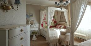 Детская комната в классическом стиле: дизайнер Максим Максименко