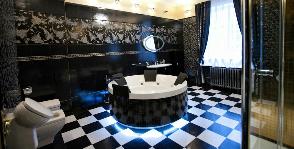 Ванная в черном цвете: дизайнер Майя Васягина