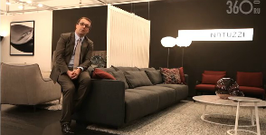«Умный» релакс Natuzzi. <br>Видео с iSaloni WorldWide Moscow 2014