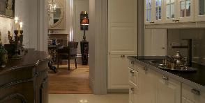 Как сделать кухню в коридоре?