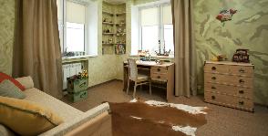 Интерьер детской спальни мальчика: дизайнер Екатерина Козлова