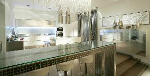 Светлая лаконичная кухня: дизайнер Татьяна Дмитренко
