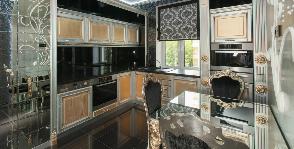 Кухня в стиле ар-деко: дизайнер Наталья Фарносова