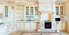 Кухня в стиле буржуазной Франции: дизайнер Катерина Антонович