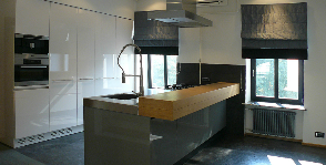 Кухня в стиле хай-тек: дизайнер Константин Румянцев