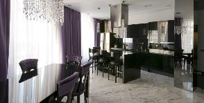 Кухня в квартире-студии: дизайнер Олег Бахметьев