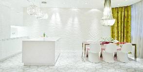 Кухня в белоснежных оттенках: дизайнер Ангелина Аскери