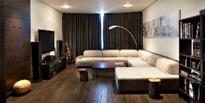 Квартира с просторной гостиной: дизайнер Ксения Елоева