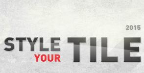 Стартовал конкурс STYLE YOUR TILE