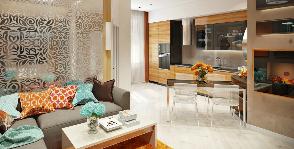 5 способов совместить кухню с гостиной