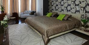 Спальня в загородном доме: дизайнер Ксения Бобрикова