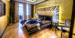Спальня De luxe: дизайн-студия «Акварель»
