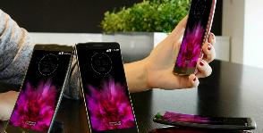 Изогнутый смартфон LG уже в продаже