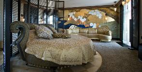 Спальня в стиле ар деко: дизайнер Елена Кулишова