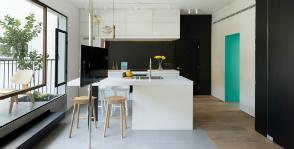 Тель-Авив: перепланировка однокомнатной квартиры в апартаменты