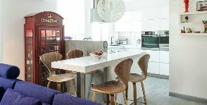 Яркая квартира для родителей и будущего малыша