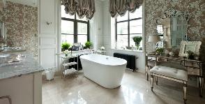 Ванная комната в подмосковном особняке