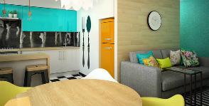 Перепланировка в двухкомнатной квартире