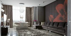 Модный дизайн гостиной: дизайнер Оксана Брагина