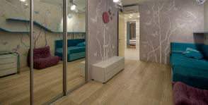 Природные мотивы в интерьере городской квартиры: Design and Construction Art Studio