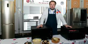 Кулинарный мастер-класс «Очарование вкуса: русская кухня с LG Electronics»