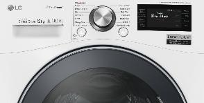 LG стирает вещи более технологично