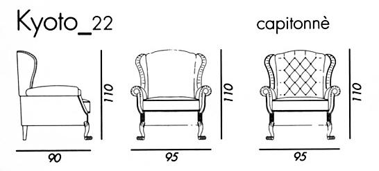 Английское кресло с ушами своими руками с размерами 40