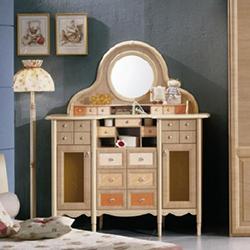 Детский туалетный столик с зеркалом для девочек