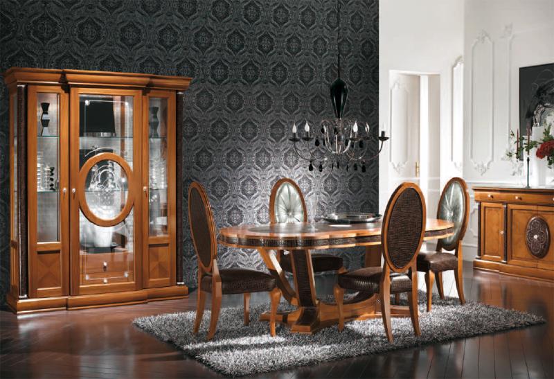 Platinum oval table with extension - на 360.ru: цены, описание, характеристики, где купить в Москве.