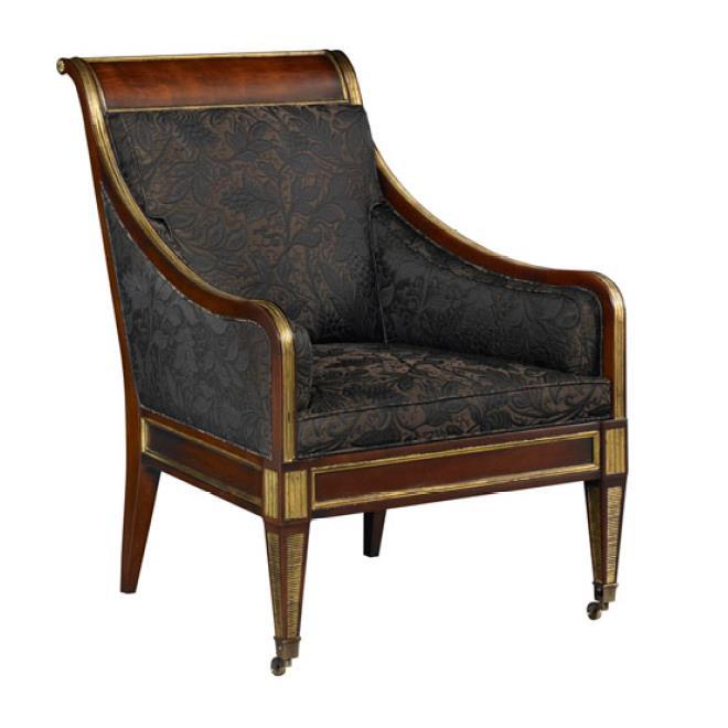 6534C Russian Regency occasional chair - на 360.ru: цены, описание, характеристики, где купить в Москве.