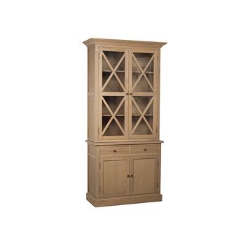 Книжный шкаф шкаф со стеклянными дверками aristocrat df7021-.