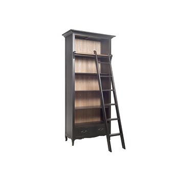 Шкаф библиотечный Grange natutal+Distressed antic black - на 360.ru: цены, описание, характеристики, где купить в Москве.
