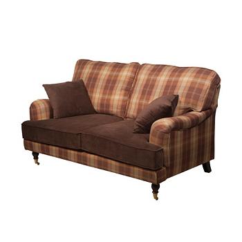 Диван двухместный для гостиной A209upholstered/brown squre - на 360.ru: цены, описание, характеристики, где купить в Москве.
