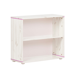 Flexa bookcase with one shelve white