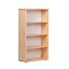 Flexa bookcase with three shelves - на 360.ru: цены, описание, характеристики, где купить в Москве.
