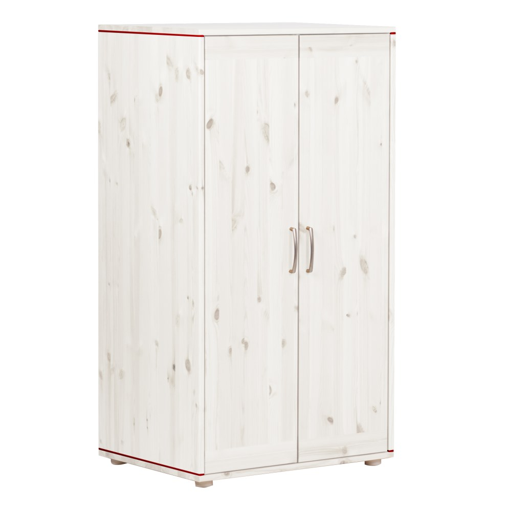 Flexa low wardrobe white - на 360.ru: цены, описание, характеристики, где купить в Москве.