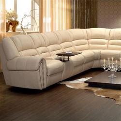 af6fdd188abb Угловые кожаные диваны (раскладные) - купить диван-кровать (угловой ...