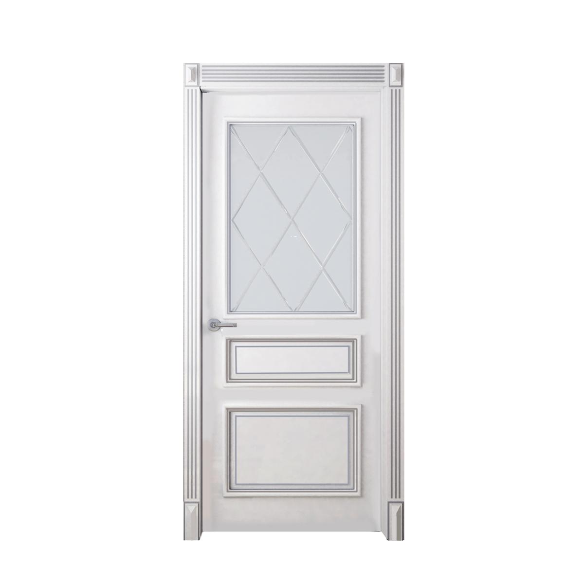 Межкомнатная дверь Лео со стеклом - на 360.ru: цены, описание, характеристики, где купить в Москве.