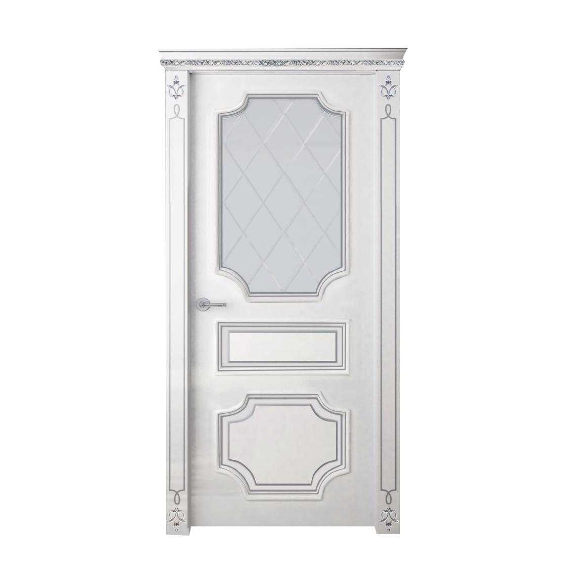 Межкомнатная дверь Франческа со стеклом - на 360.ru: цены, описание, характеристики, где купить в Москве.
