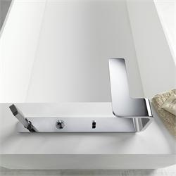 Смеситель для ванной встраиваемый в ванную купить в люкс дизайн ванной комнаты