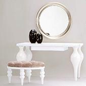 Столик туалетный с зеркалом Романтик. туалетный столик