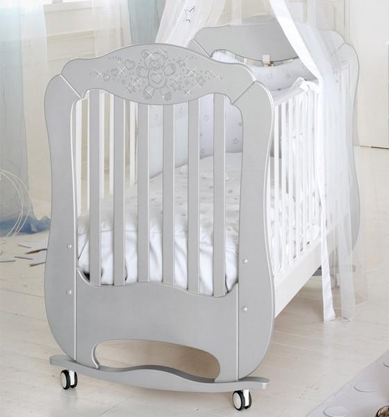 Diamante argento/bianco bed - на 360.ru: цены, описание, характеристики, где купить в Москве.