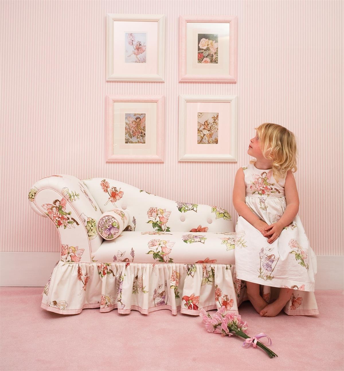 Flower Fairy / Nessa`s Roses chaise lounge - на 360.ru: цены, описание, характеристики, где купить в Москве.