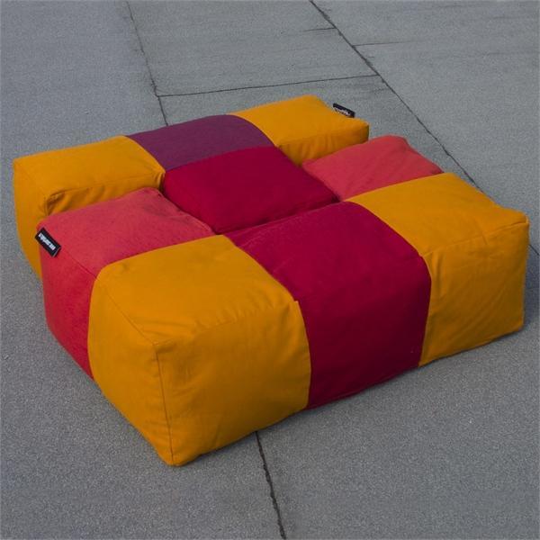 Диван из подушек-модулей своими руками 23