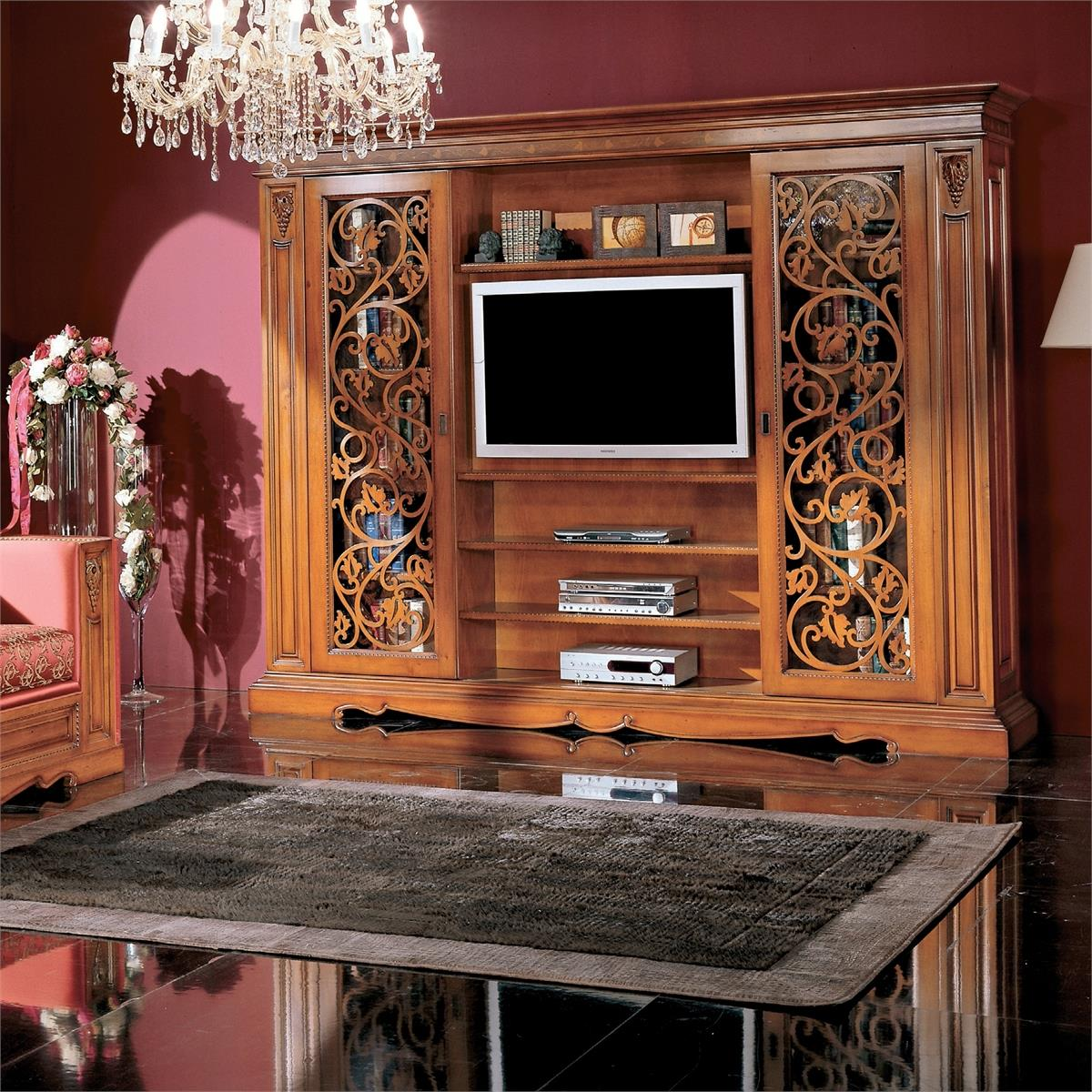Montalcino - стенка - элитная мебель для гостиной красноярск.