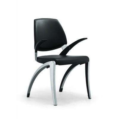 Giroflex 18 Visitor's chair Leather - на 360.ru: цены, описание, характеристики, где купить в Москве.