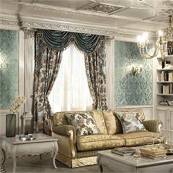 гостиной для фото классика мебель