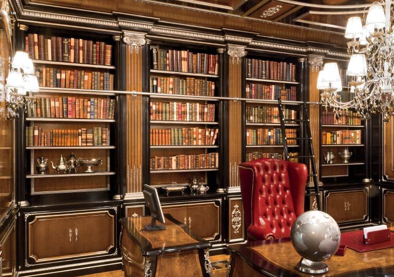 Luxury bookcase 02 - на 360.ru: цены, описание, характеристики, где купить в Москве.